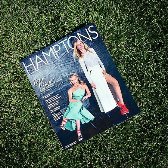 Gwyneth Paltrow et Tracy Anderson covergirls d'Hamptons Magazine