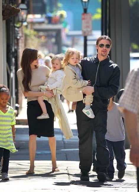 Knox et Vivienne Jolie-Pitt : Leur film en noir et blanc...