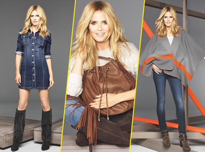 Photos : Heidi Klum : le top rayonne pour la nouvelle campagne Macy's !