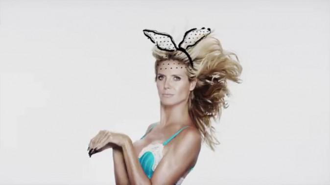 "Photos : Heidi Klum : plus pétillante que jamais pour sa collection ""Heidi Klum Intimates"" !"