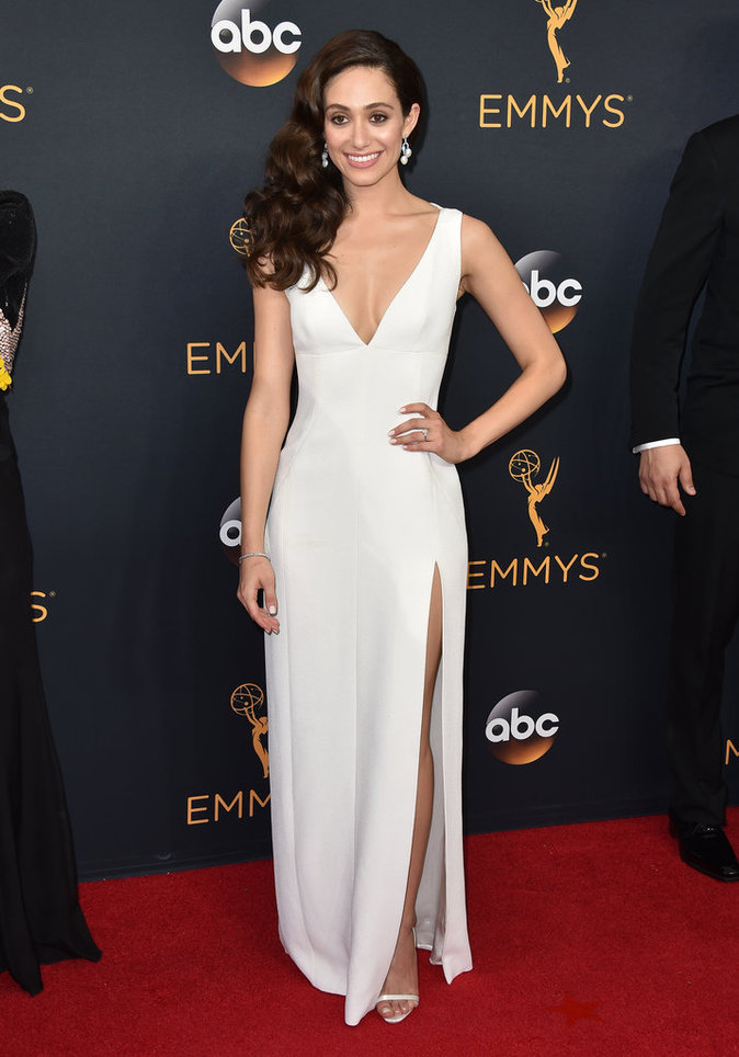 Emmy Rossum (Shameless) en Wes Gordon