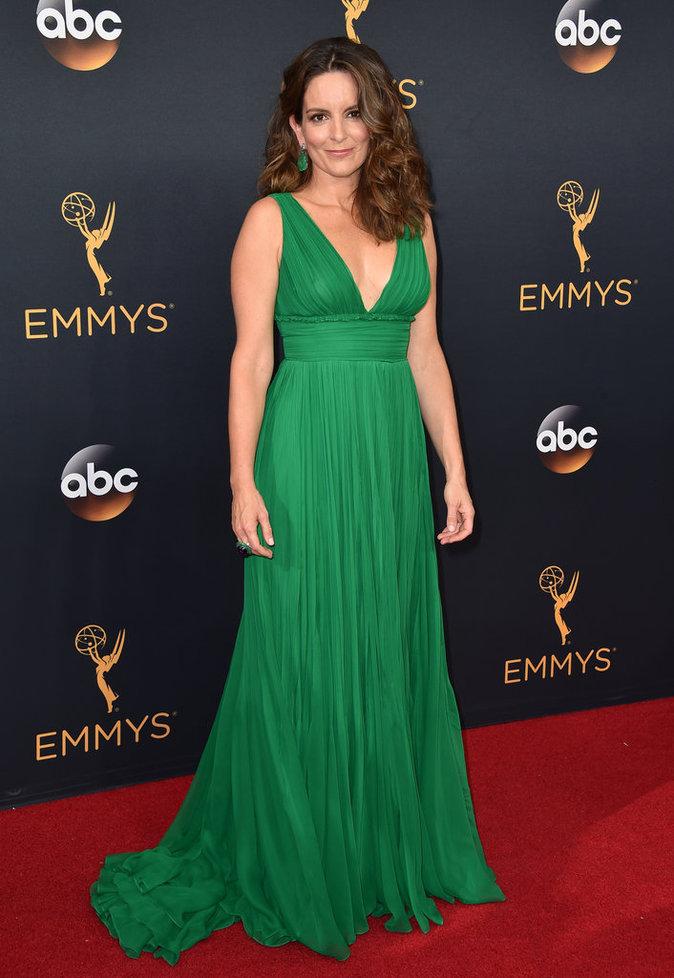 Tina Fey en Oscar de la Renta