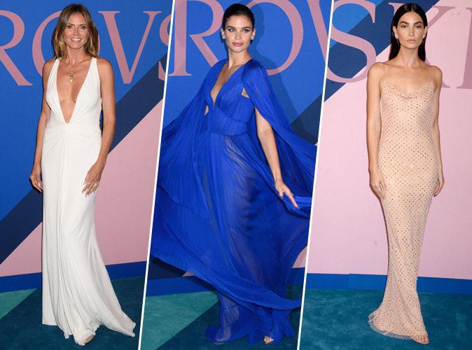 Heidi Klum, Sara Sampaio, Lily Aldridge... Tous les plus beaux looks des CFDA Awards