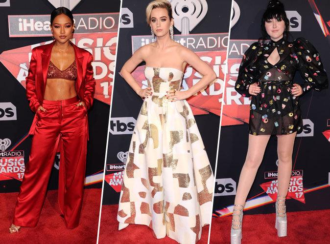 iHeart Radio Music Awards : Karrueche Tran, Katy Perry, Noah Cyrus... Votez pour votre look préféré !