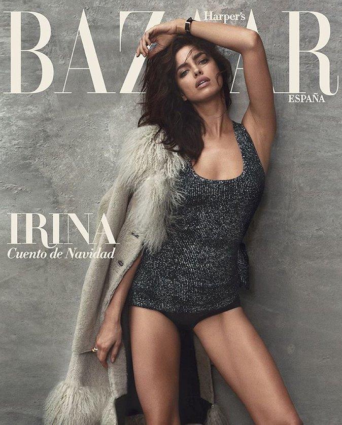 Irina Shayk pour Harper's Bazaar