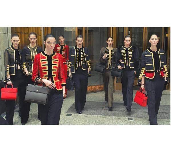 Irina Shayk, Bella Hadid, Lily Aldridge et Mariacarla Boscono pour la nouvelle campagne Givenchy