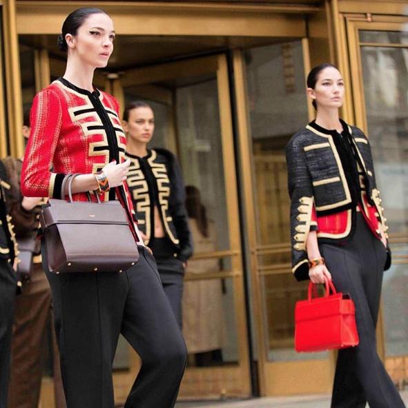 Irina Shayk, Lily Aldridge et Mariacarla Boscono pour la nouvelle campagne Givenchy