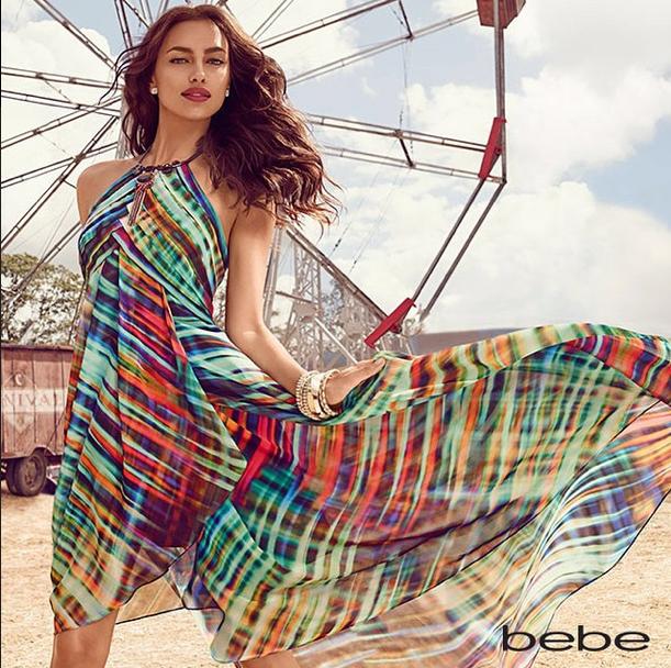 Irina Shayk : une bohémienne chic pour la nouvelle campagne de Bebe