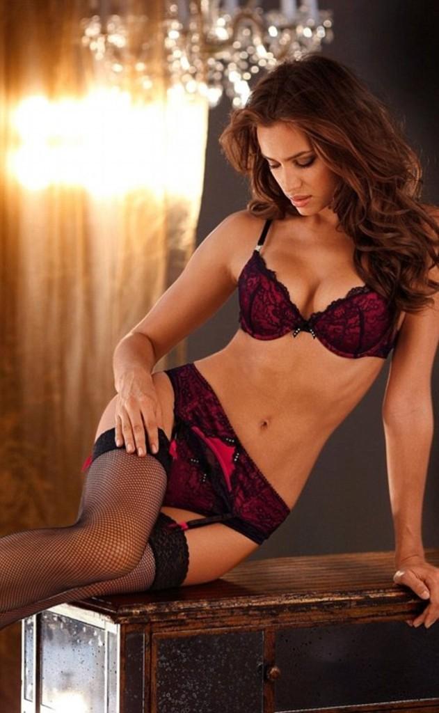 Irina Shayk ambassadrice de la marque de lingerie Lascana Lingerie Beauty...