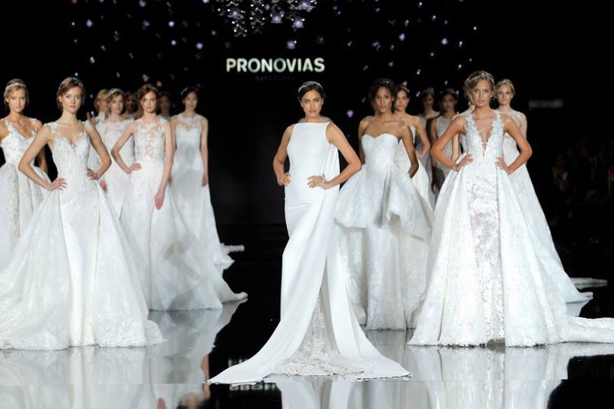 Final du défilé Pronovias