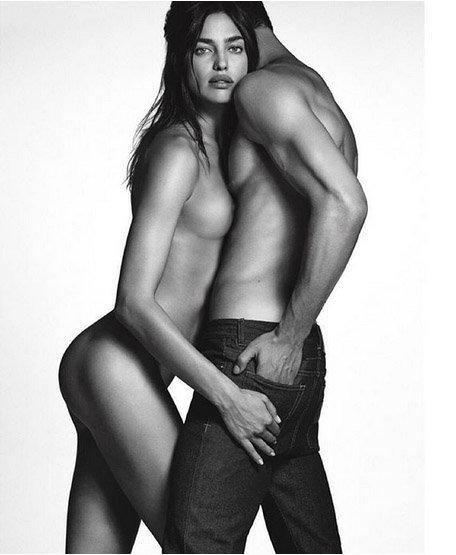 Irina Shayk et Chris Moore ont posé pour Givenchy