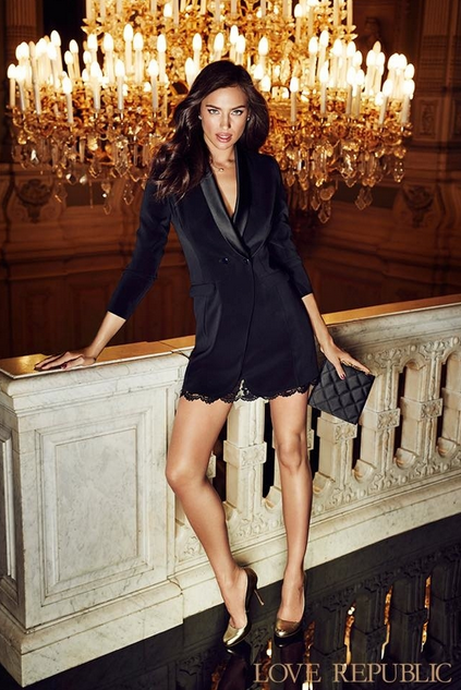 Photos : Irina Shayk : star de la nouvelle campagne Love Republic !