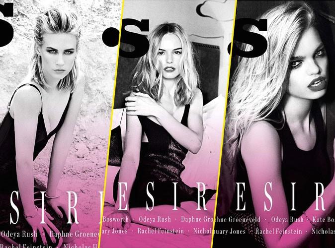 Photos : January Jones, Kate Bosworth, Daphne Groeneveld : armée de blondes en couv' de Vs. Magazine !