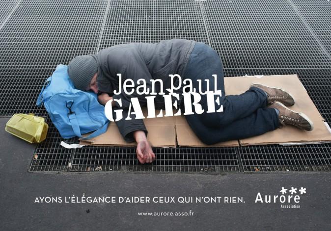 Les affiches de la campagne de l'association Aurore