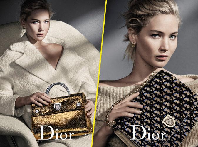 Photos : Jennifer Lawrence : Dans sa nouvelle campagne, c'est Dior qui l'adore !
