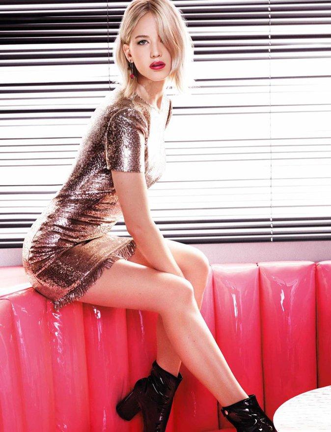 Jennifer Lawrence : disco et sexy pour Dior