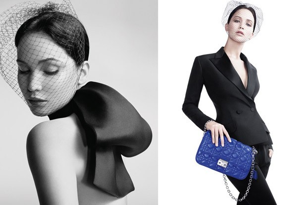 Jennifer Lawrence dans la nouvelle campagne de pub des sacs Miss Dior...