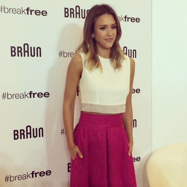Jessica Alba égérie de charme pour Braun