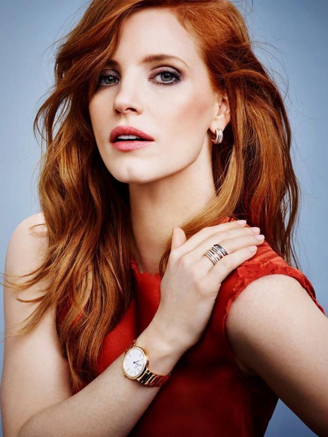 Jessica Chastain : nouvelle campagne étincelante pour la marque de joaillerie Piaget !