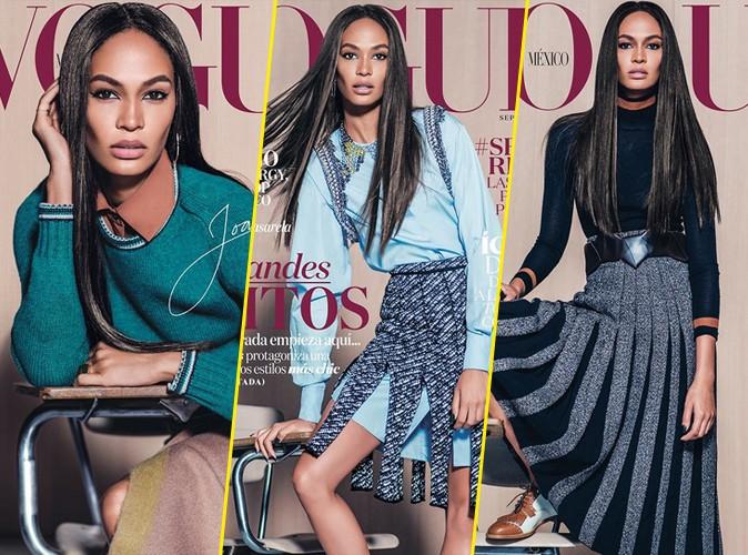Photos : Joan Smalls : Jamais deux sans trois... Elle assure en couverture de Vogue Mexique !