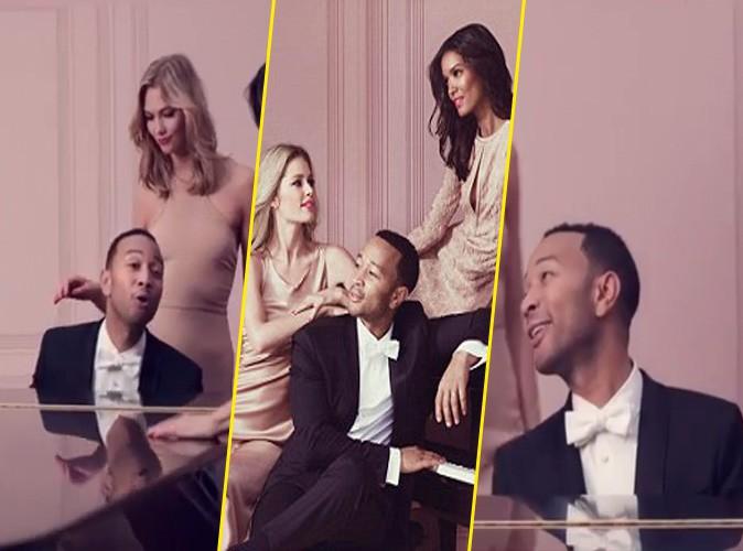 Photos : John Legend : pour L'Oréal Paris, il voit la vie en rose !