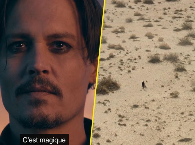 Photos :  Le sexy Johnny Depp nous rejoue Into The Wild pour Sauvage de Dior !
