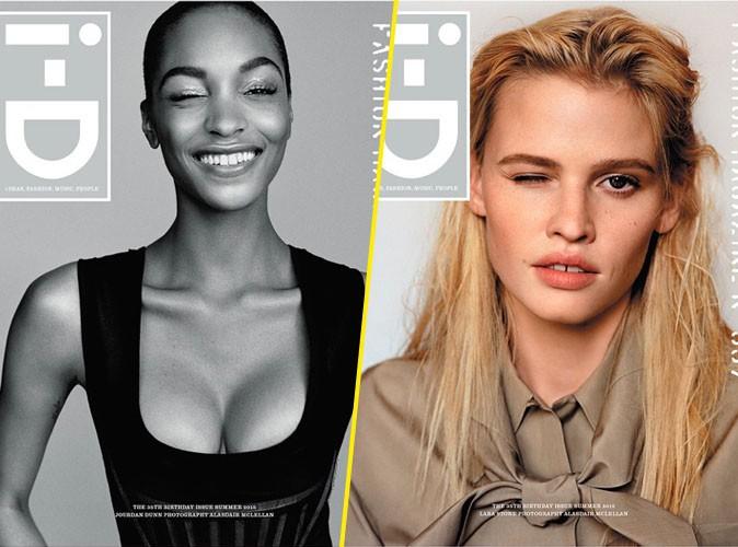 Mardi 26 mai : Jourdan Dunn et Lara Stone en couvertures de i-D magazine