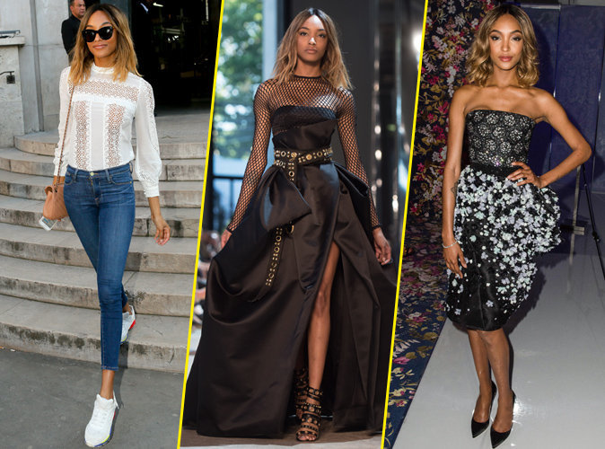 Photos : Jourdan Dunn : un marathon british à la Fashion Week parisienne !