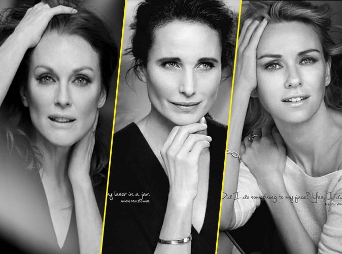 Photos : Julianne Moore, Andie MacDowell et Naomie Watts : trio de choc pour L'Oréal Paris !