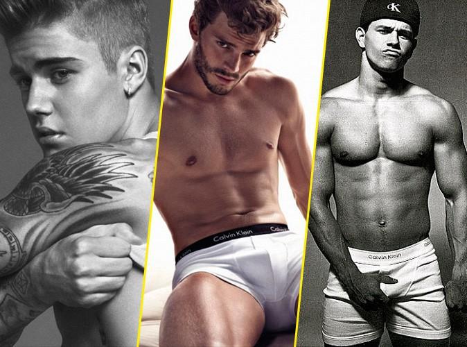 Photos : Justien Bieber, Jamie Dornan, Mark Wahlberg... qui est l'ambassadeur Calvin Klein le plus hot ?