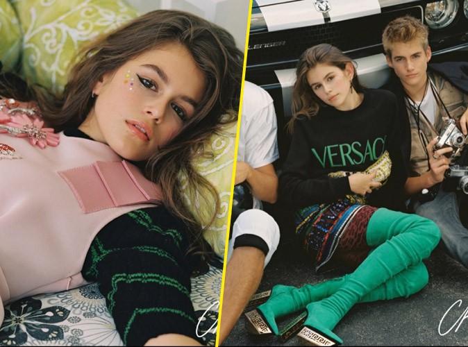 Photos : les enfants de Cindy Crawford, Kaia et Presley Gerber, déjà des graines de mannequins !