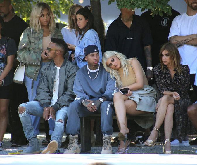Kylie Jenner et Tyga au défilé Yeezy Season 4 à New York le 7 septembre 2016