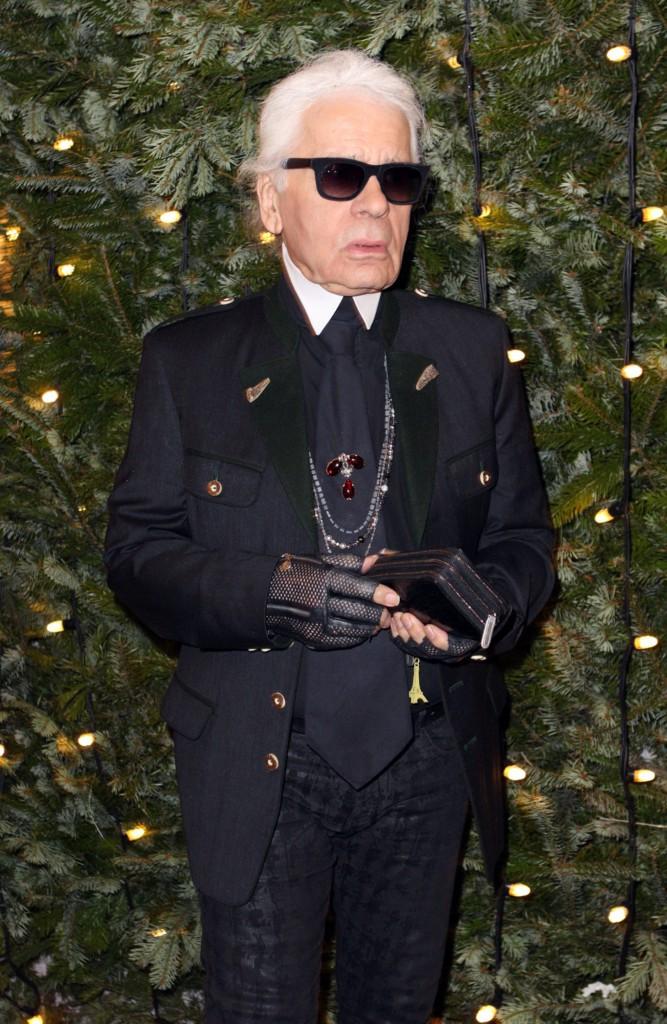 Photos : Karl Lagerfeld et Baptiste Giabiconi : les hommes Chanel réunis autour d'un diner !