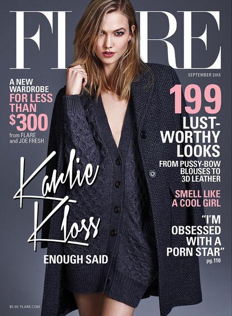 Karlie Kloss pour Flare Magazine