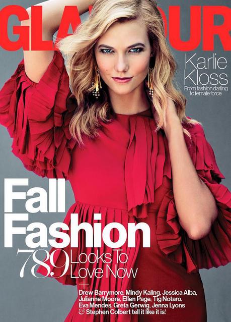 Karlie Kloss pour Glamour magazine