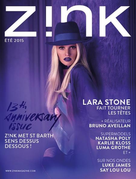 Photos : Karlie Kloss et Lara Stone : les deux bombes s'offrent la une de Zink Magazine !
