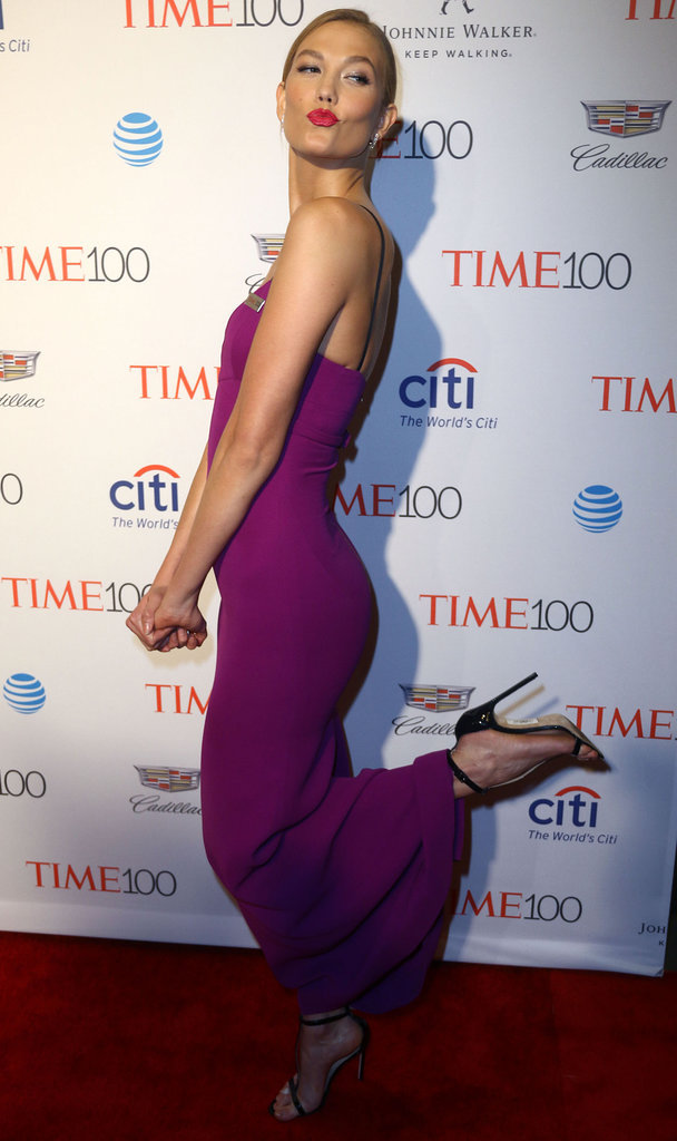 Karlie Kloss sur le red carpet du gala Time Magazine