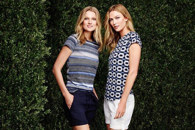 Toni Garrn et Karlie Kloss pour la nouvelle campagne Joe Fresh