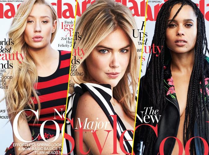 Photos : Kate, Iggy, Zoe, Felicity et Hailee : 5 bombes, 5 couv' pour Marie Claire US !