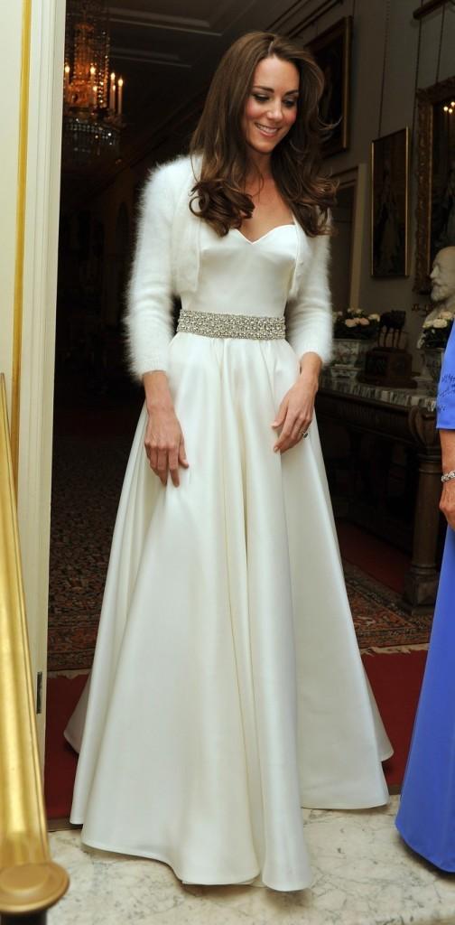 Kate Middleton, le jour de son mariage !