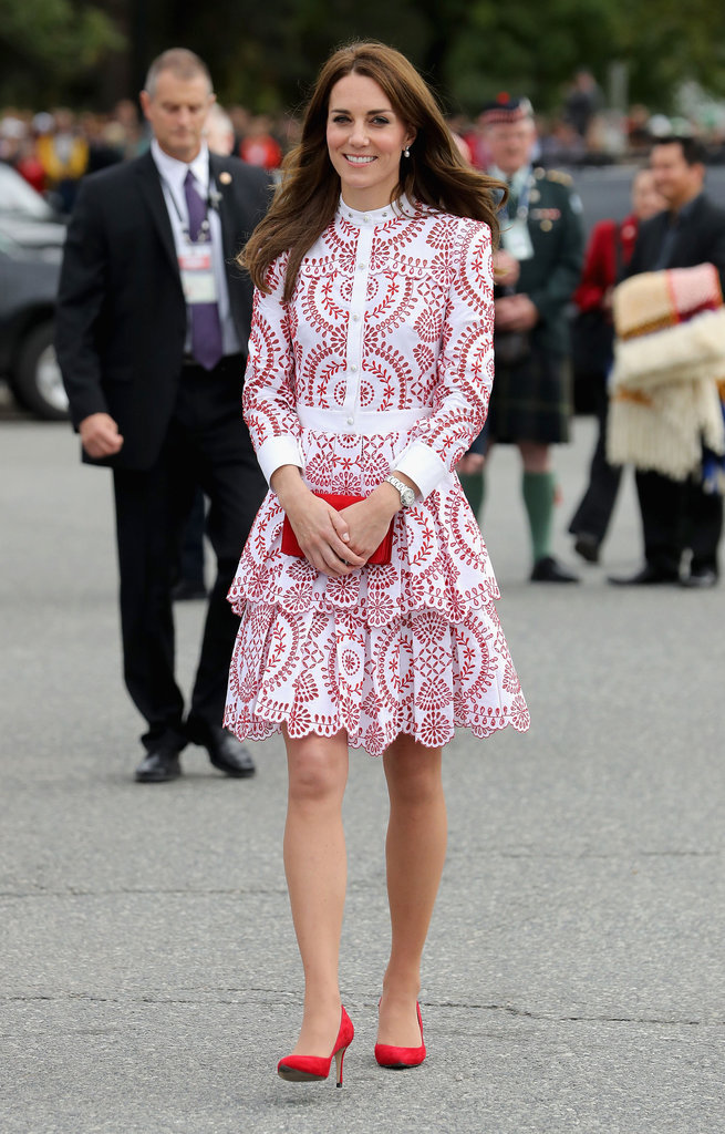 Photos : Kate Middleton : sa robe la plus chère en 2016 coûte...