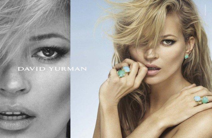Photos : Kate Moss et Anna Ewers : duel de blondes envoutantes pour la nouvelle campagne David Yurman