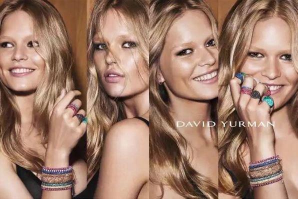 Anna Ewers pour David Yurman