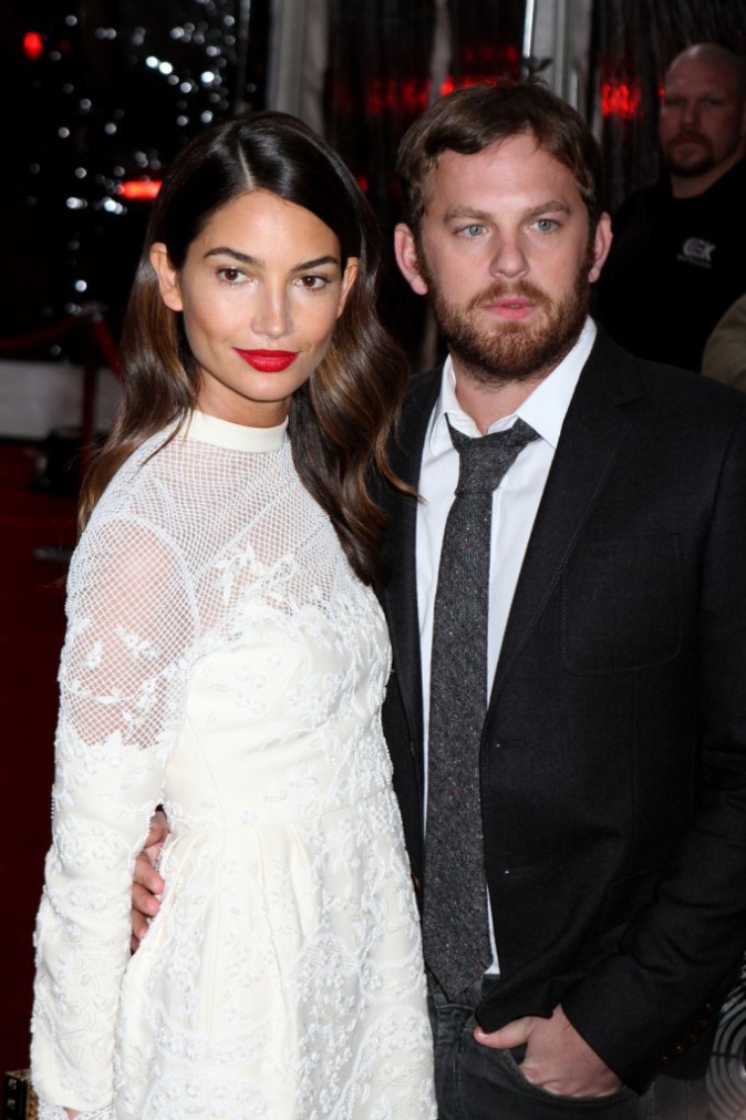 Lilly Aldridge et Caleb Followoll