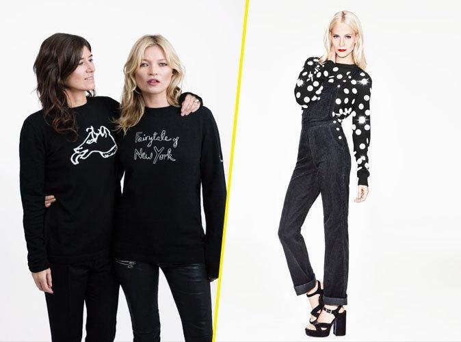 Photos : Kate Moss, Poppy Delevingne... Stylées en pull de Noël pour la bonne cause !