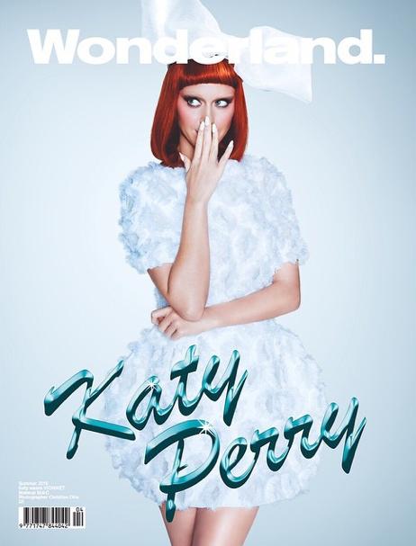 """Photos : Katy Perry : """"C'est un des mes shooting préférés qui arrive dans le prochain Wonderland Magazine !"""""""