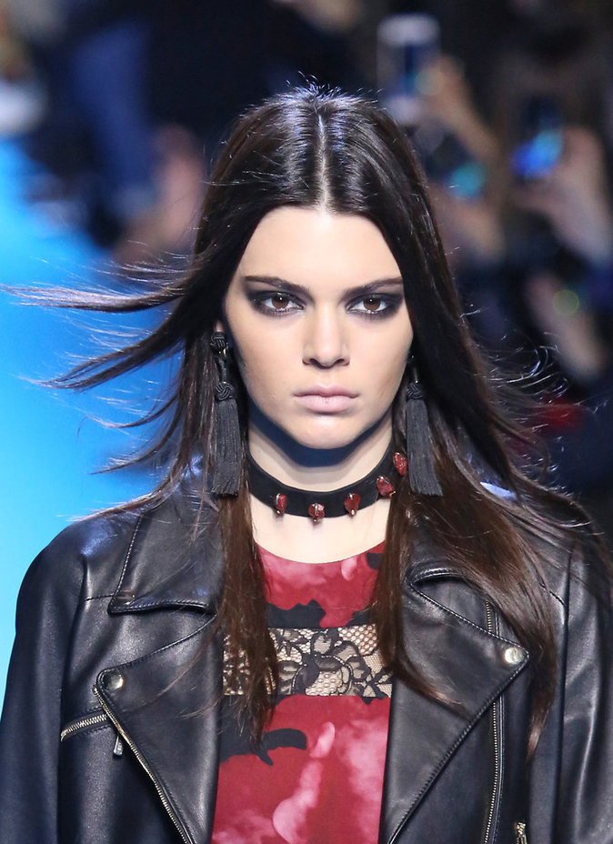 Photos : Kendall Jenner : chic et rock pour le défilé Elie Saab