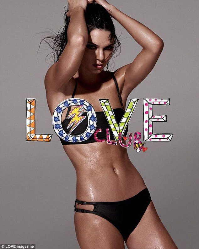 Kendall Jenner pour Love Club