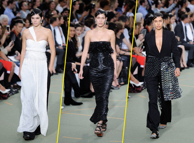 Photos : Kendall Jenner, Gigi Hadid et Irina Shayk s'invitent sur le podium lors de la Fashion Week Homme !