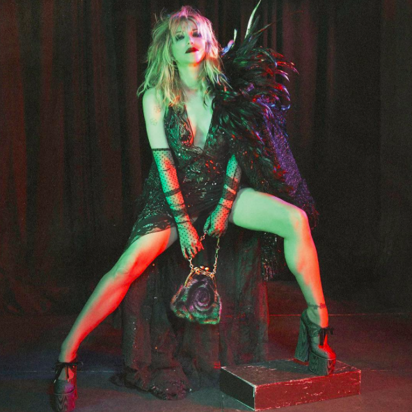 Campagne Marc Jacobs Automne/Hiver 2016 - Courtney Love
